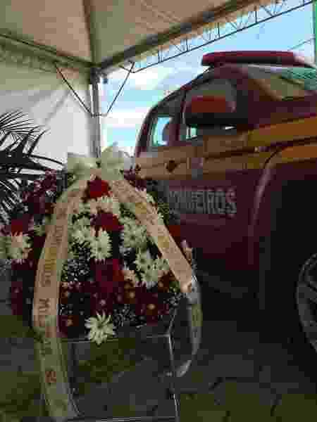 Bombeiros de SC se despedem do cão Barney - Divulgação/Corpo de Bombeiros de SC
