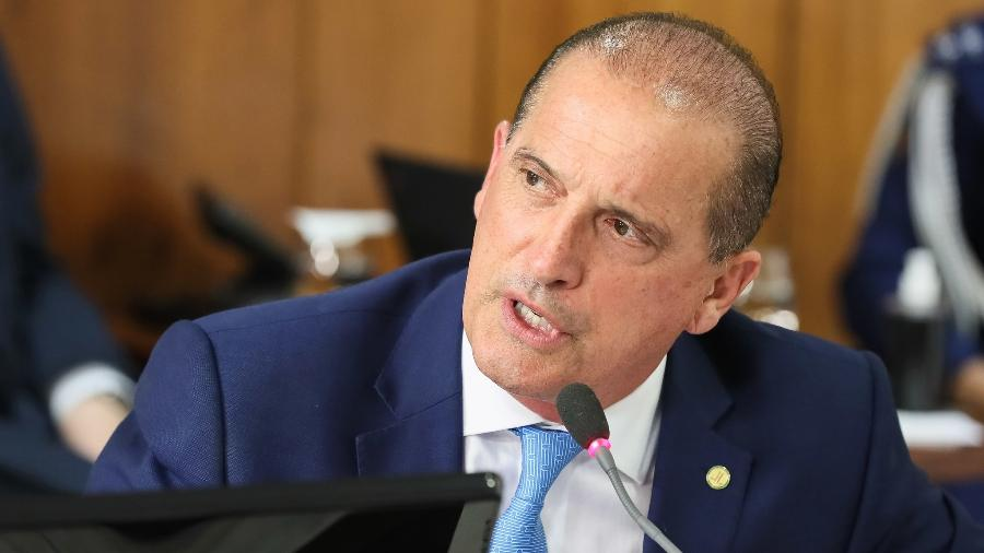 Ministro do Trabalho e Previdência, Onyx Lorenzoni, disse que governo encaminhará nova proposta - Isac Nóbrega/PR