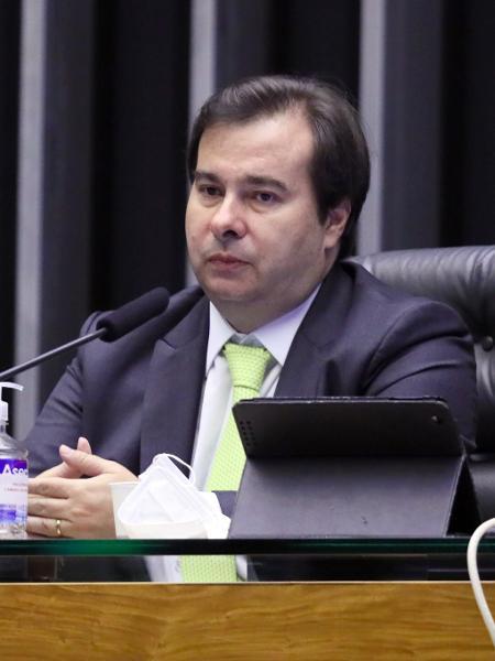 O presidente da Câmara dos Deputados, Rodrigo Maia (DEM-RJ), durante sessão - Maryanna Oliveira/Câmara dos Deputados