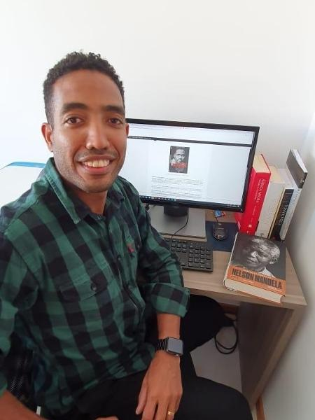 O professor de História José Nilton da Silva Júnior foi vítima de racismo - Arquivo pessoal