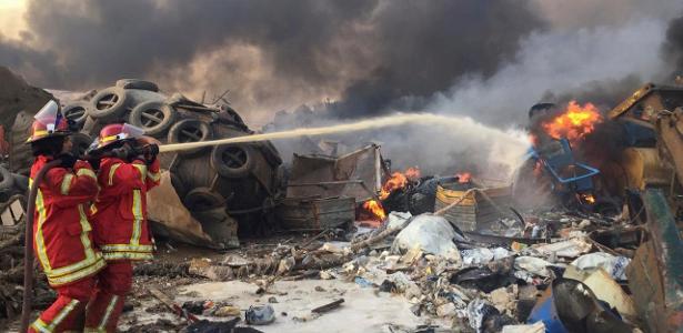 Notícias | Incidente gera pânico na região portuária do Líbano; veja vídeos
