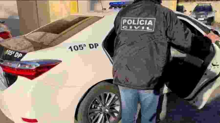 Polícia Civil do Rio de Janeiro descobriu casa que abrigava um estúdio de pornografia infantil em Santíssimo - Divulgação/Polícia Civil do Rio de Janeiro