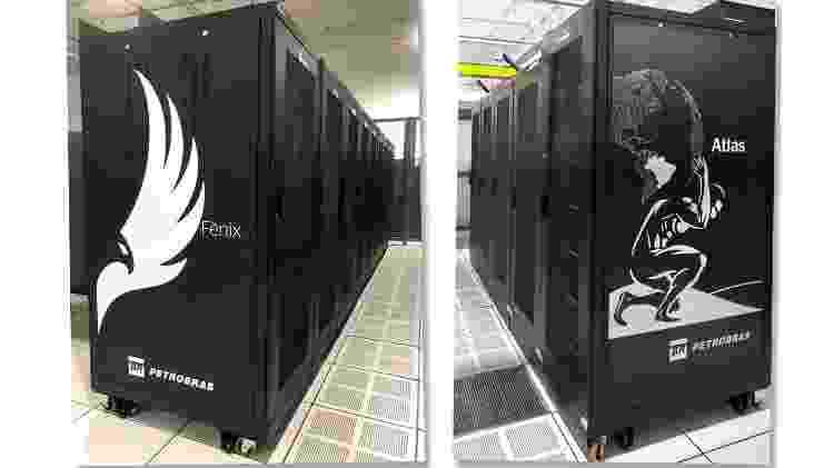 Computadores Atlas e Fênix, da Petrobras - Divulgação - Divulgação