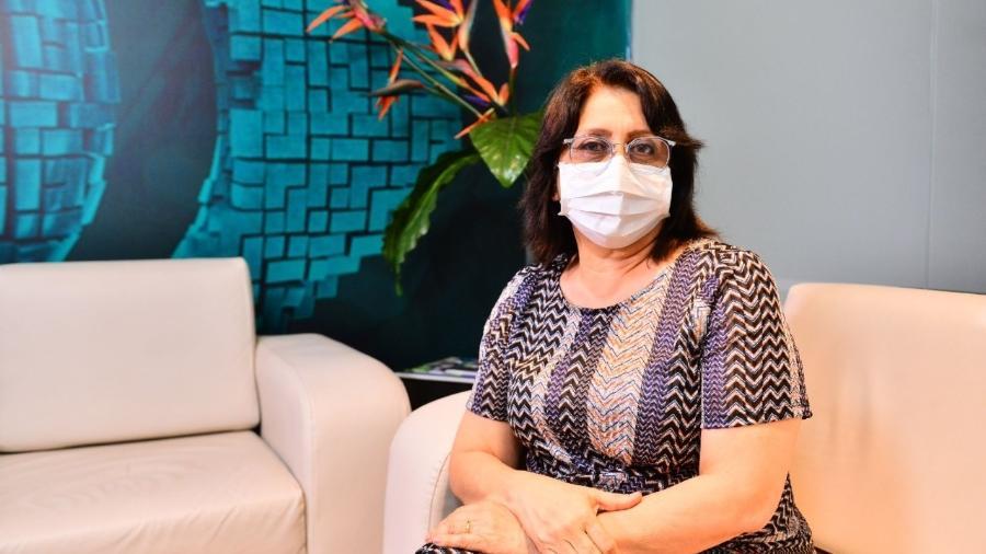 Rosemary Costa Pinto, diretora-presidente da FVS-AM (Fundação de Vigilância em Saúde do Amazonas), que morreu vítima da covid-19 - Divulgação FVS-AM