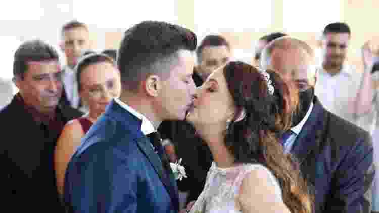 Adarlele e Ruan realizaram o sonho do casamento, no Paraná - Divulgação/Kátia Luz Fotografia - Divulgação/Kátia Luz Fotografia
