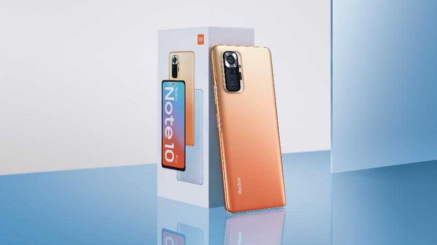 Redmi Note 10 Pro - Xiaomi/Divulgação