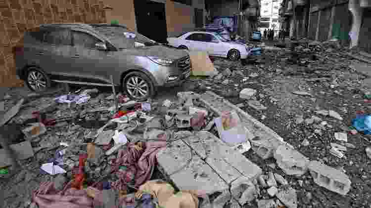 bombardeio israel gaza - Mahmud Hams/AFP - Mahmud Hams/AFP
