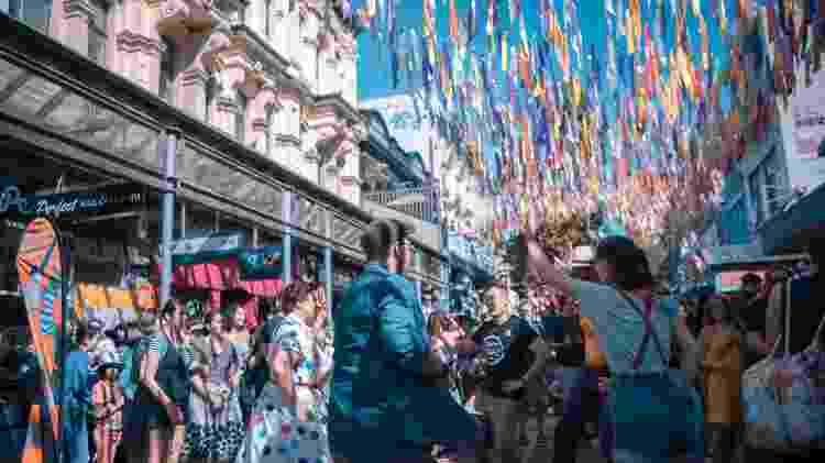 28.mar.21 - Após reabertura, público participa de festival em Wellington, na Nova Zelância - Zhang Jianyong/Xinhua - Zhang Jianyong/Xinhua
