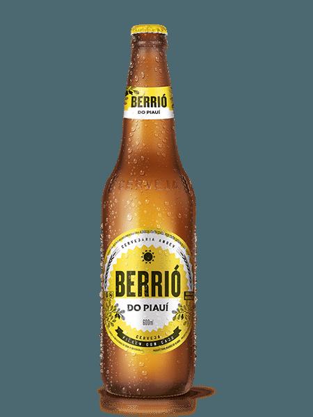 Berrió do Piauí, marca de cerveja da Ambev produzida e vendida só no Piauí - Divulgação