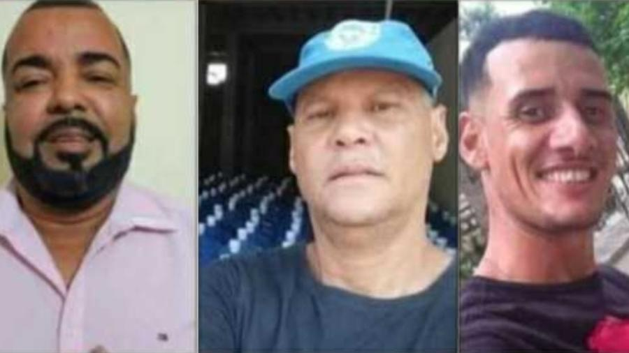 Três homens sumiram em região de milícia no RJ - Reprodução/Facebook