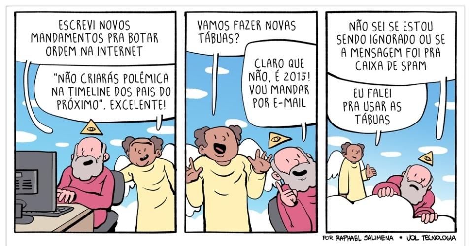 """15.nov.2015 - """"Os Novos Mandamentos"""""""