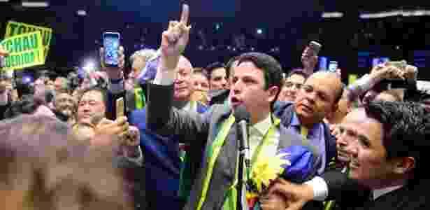 Em 2016, Bruno Araújo deu o voto que afastou Dilma Rousseff da Presidência - Nilson Bastian / Câmara dos Deputados