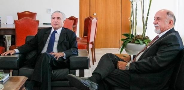 Temer com Simão Jatene, governador do Pará