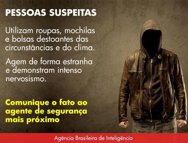 Em post no Facebook, Abin descreve perfil de suspeitos de terrorismo