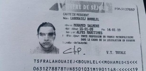 Mohamed Lahouaiej Bouhlel é um francês de origem tunisiana de 31 anos de idade e seria o motorista do caminhão