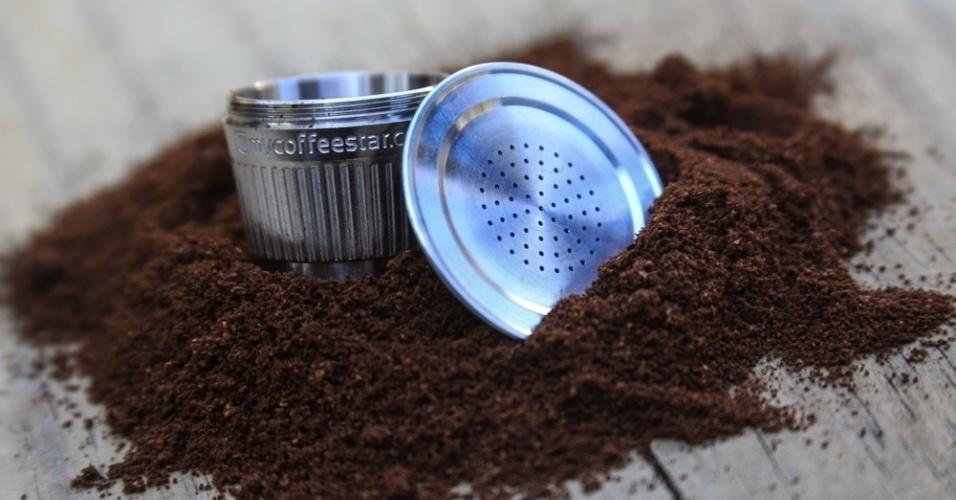 Ecoreciclos, start-up que vende cápsula reutilizável de café feita de aço inox
