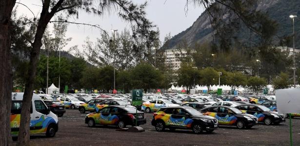 Carros oficiais usados na Olimpíada do Rio de Janeiro