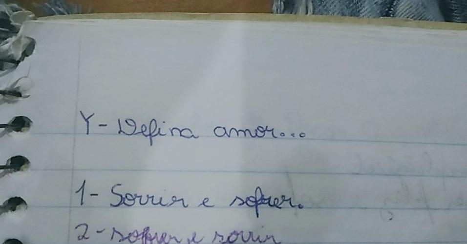 caderno de confidências, caderno de perguntas, nostalgia, educação, escola