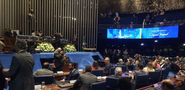 O Senado aguarda a posse de Michel Temer - Ricardo Marchesan/UOL