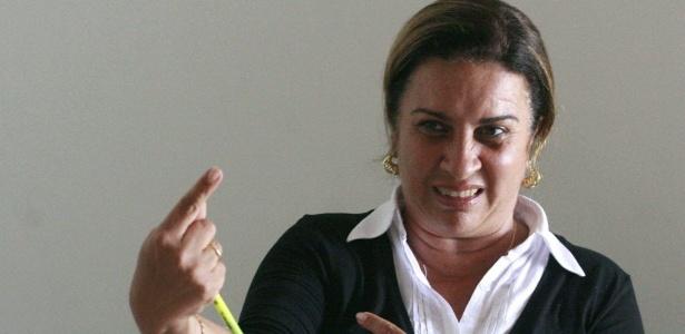 A juíza baiana Olga Regina de Souza Santiago, em imagem de 2008