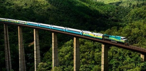 A Vale é dona do único trem de passageiros diário do país