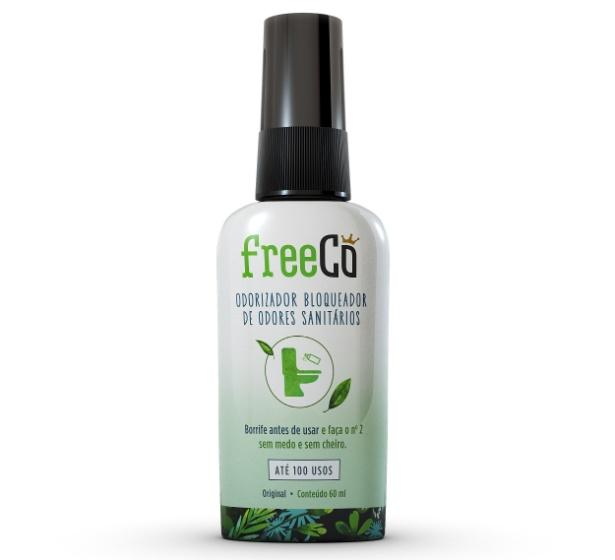 O FreeCô é um bloqueador de odores de banheiro
