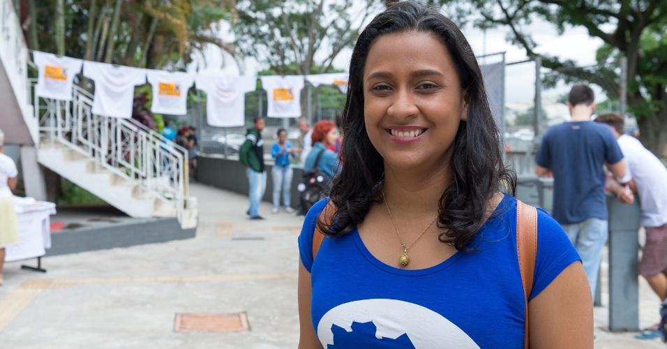 Bruna Chaves é estudante de pedagogia da Universidade Estadual do Amazonas (UEA) e lidera o Diretório Central dos Estudantes Universitários do Estado do Amazonas
