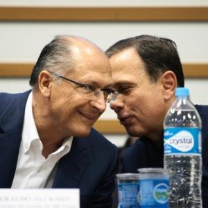 O governador de São Paulo, Geraldo Alckmin (PSDB), e o prefeito de São Paulo, João Doria