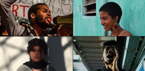 A partir do alto à esq., em sentido horário, Marcelo Rocha, Lilith Cristina Passos Moreira, Guilherme Oliveira e Ana Paula Lescano