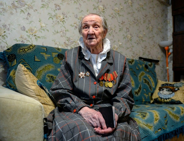 Maria Riabtseva tinha apenas 3 meses de idade na Revolução de Outubro de 1917