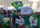 Cerca de 400 pessoas participam de ato em Copacabana contra Lula (Foto: Fabio Motta/Estadão Conteúdo)