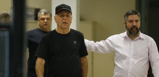 27.jul.2018 - o Prefeito de Japeri-RJ, Carlos Moraes (PP), é preso por suspeita de associação para o tráfico de drogas - Pablo Jacob/Agência O Globo