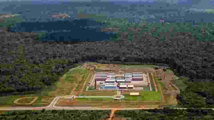 Presídio federal de Porto Velho (RO), onde está Marcola desde 13 de fevereiro de 2019 - Out.2017 - Divulgação