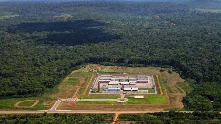 Presídio Federal de Porto Velho, em Rondônia - Out.2017 - Divulgação