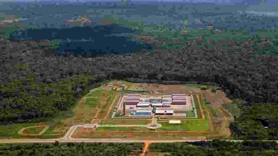 Presídio Federal de Porto Velho, em Rondônia, onde Marcola foi levado - Out.2017 - Divulgação