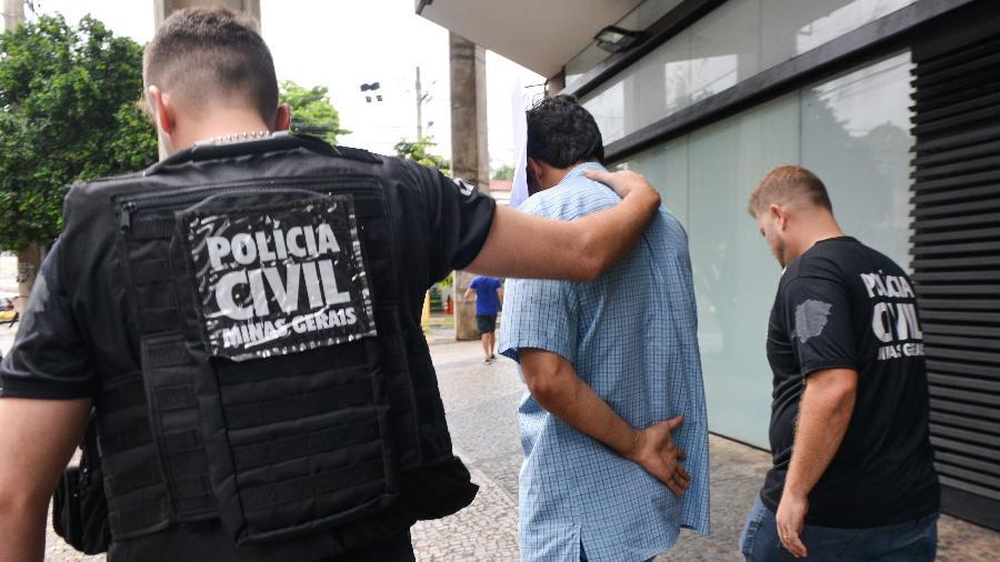 Funcionário da Vale é preso em Belo Horizonte em investigação sobre tragédia - UARLEN VALéRIO/O TEMPO/ESTADÃO CONTEÚDO