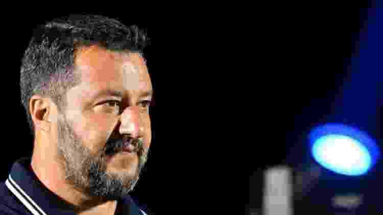 Eleições do Parlamento europeu consolidaram Salvini como o político mais popular da Itália: seu partido, a Liga, obteve 34% dos votos - Alberto Pizzoli/AFP
