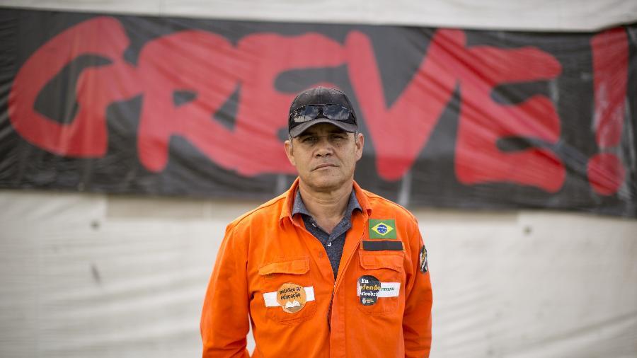 Greve dos Petroleiros - Brunno Covello/Folhapress