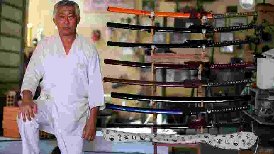 Samurai Edson Suemitsu - Rodolfo Buhrer/REUTERS