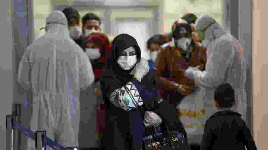 País tem mais de 315 mil infectados por covid-19 e é o mais afetado pela pandemia no Oriente Médio - Haidar Hamdani/AFP