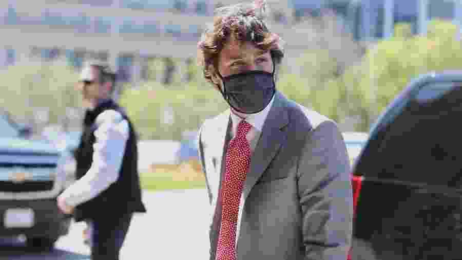 Oito novas mortes por conta do vírus foram registradas na noite de ontem, atingindo um total de 8.798 - Dave Chan/AFP