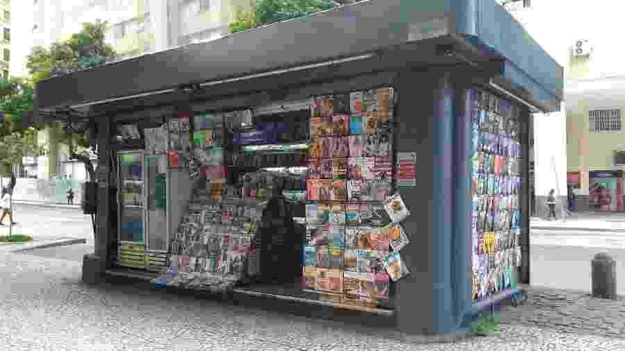 Bancas de jornais no Rio de Janeiro não poderão vender bebidas alcoólicas - Reprodução/Facebook