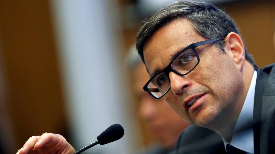 Presidente do BC, Roberto Campos Neto, disse que trabalha com o aumento dos juros básicos da economia - Adriano Machado