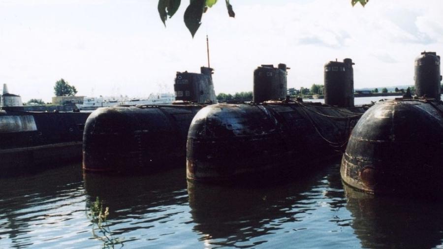 Submarinos nucleares soviéticos  - Getty Images