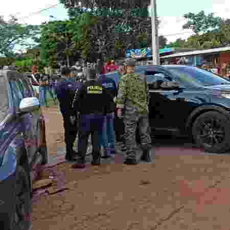 Atentado contra foragido ocorreu em Pedro Juan Caballero, no Paraguai - Nelson Candia/Pedrojuaninos Online - Nelson Candia/Pedrojuaninos Online