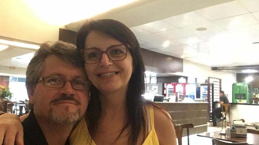 Sandra Aparecida Pereira aceitou passeio a convite do marido, Anderson Antônio Pereira - Acervo pessoal