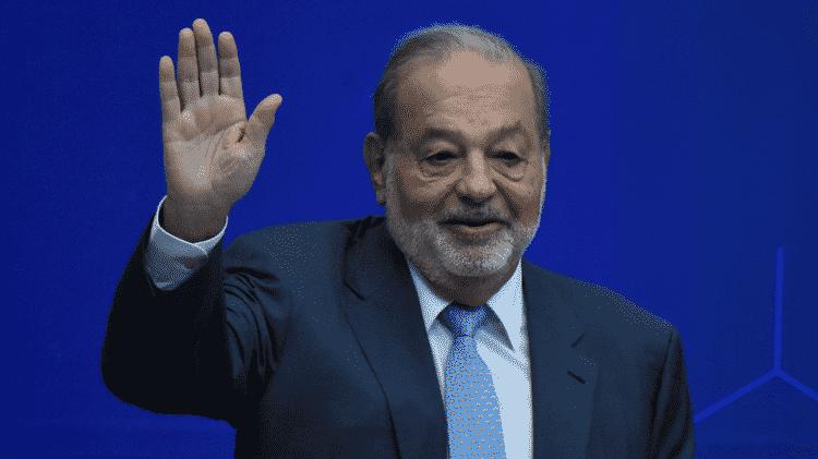 A fortuna de Carlos Slim está estimada em US$ 62 bilhões - Getty Images - Getty Images