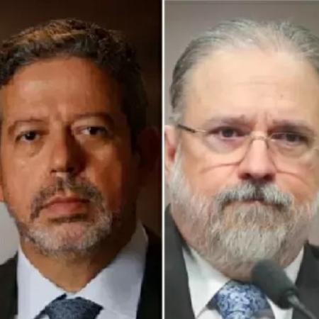 Arthur Lira e Augusto Aras -  Cristiano Mariz/Veja; Sérgio Lima/Poder 360