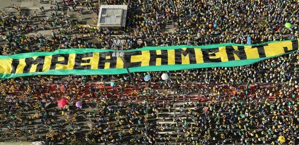 Protestos do último domingo pediram o impeachment de Dilma - Jorge Araújo/Folhapress