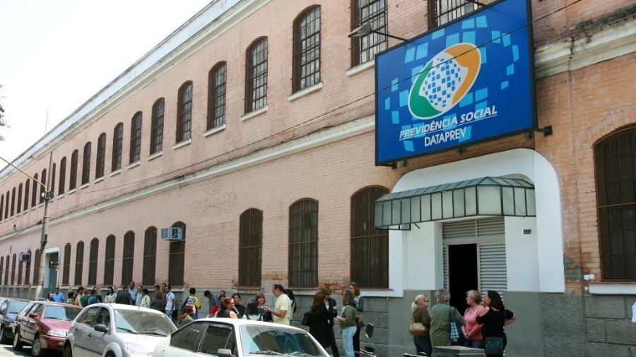 Fachada do predio do Dataprev, da Previdencia Social, que fica no Brás, em Sao Paulo. - Leonardo Wen/Folha Imagem
